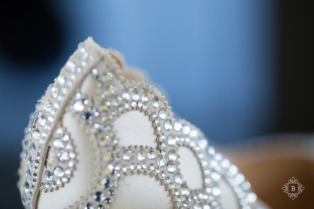 Northern Virginia Desi South Asian wedding bridal details shoes