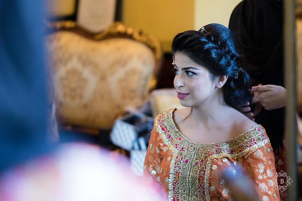 Northern Virginia Desi South Asian Mehndi preparation hair