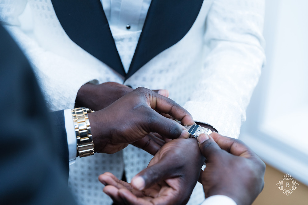 Northern Virginia Culpeper Center wedding groom prep Suites at 249