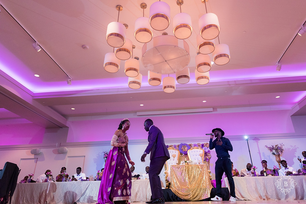 Northern Virginia Culpeper Center and Suites wedding reception special performance