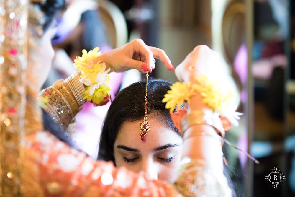 Northern Virginia Desi South Asian Mehndi preparation