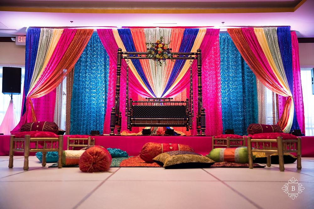 Northern Virginia Desi South Asian Mehndi Cherry Blossom Restaurant venue details
