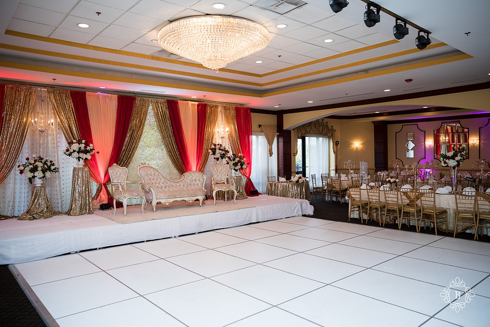 Northern Virginia Desi South Asian wedding Cherry Blossom Restaurant venue details