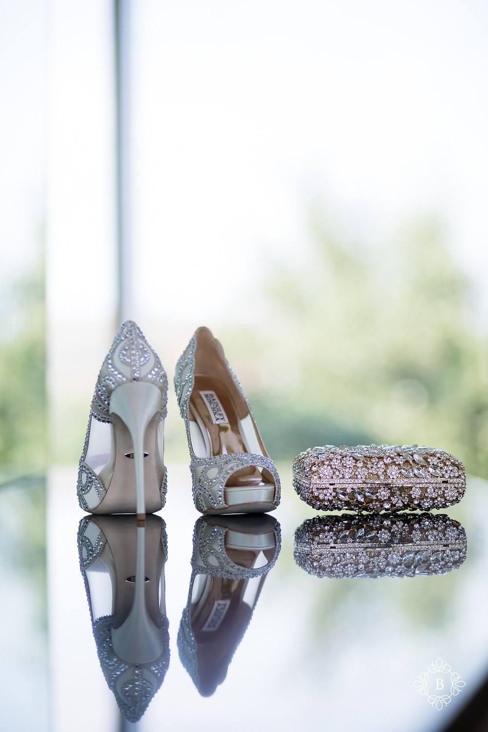 Northern Virginia Desi South Asian wedding bridal details shoes and purse