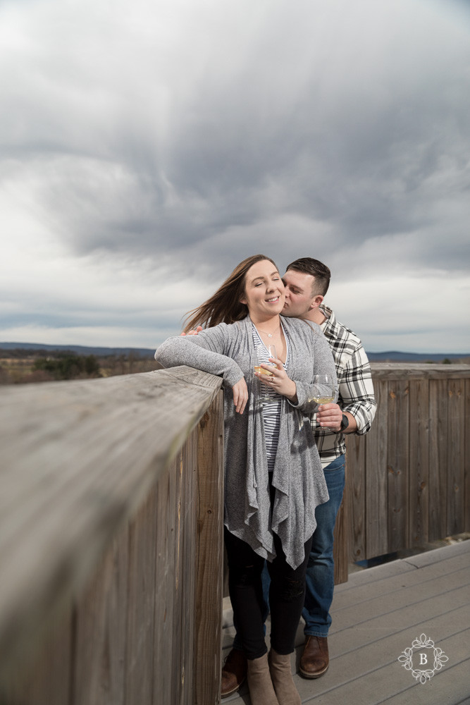 Northern Virginia Loudoun County engagement Barrel Oak Winery engagement