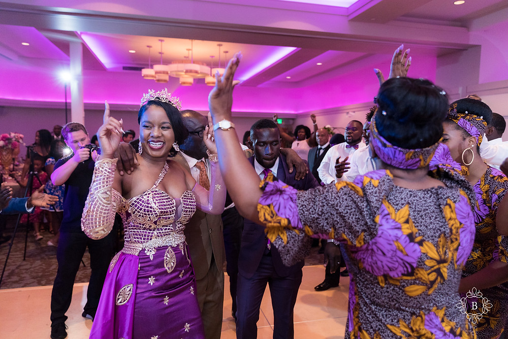 Northern Virginia Culpeper Center and Suites wedding reception bride dance