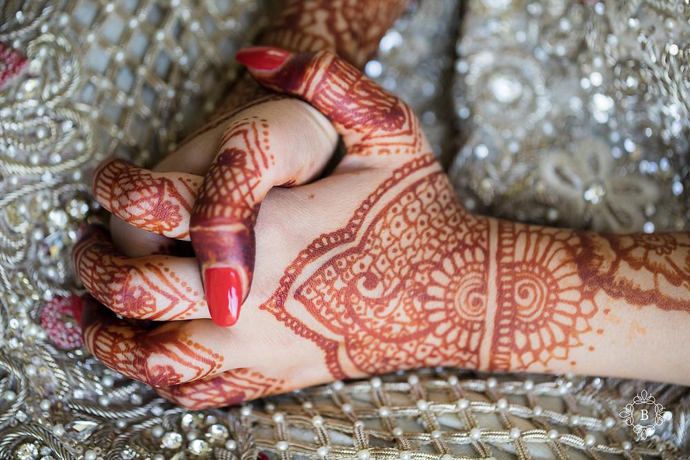 Northern Virginia Desi South Asian wedding prep mehndi