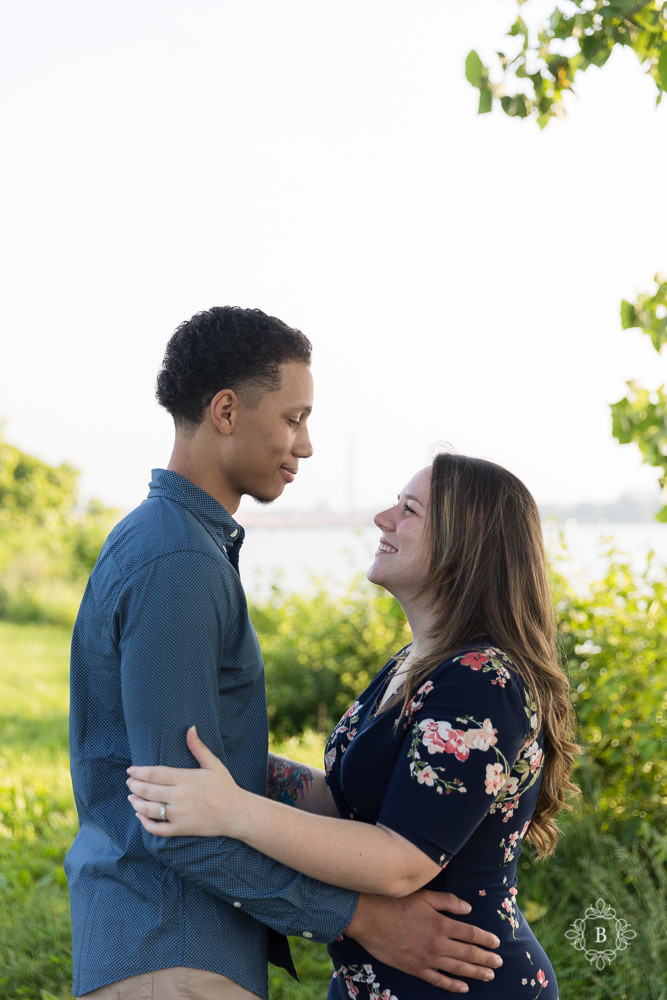 Northern Virginia  D.C. Gravelly Point sunrise engagement photography