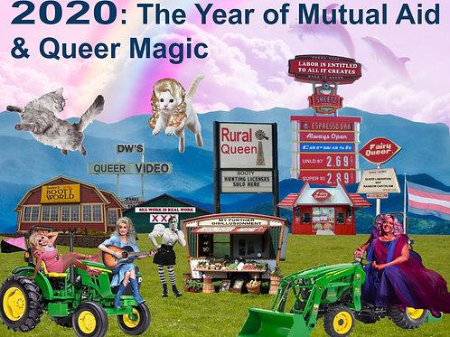 2020 Calendar: The Year of Mutual Aid & Queer Magic
