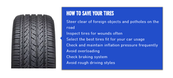 This is how you can save your tires