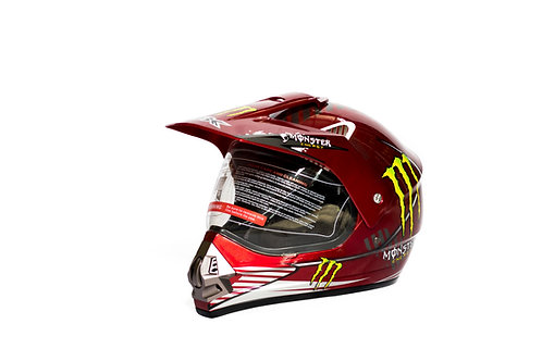 IBK Monster Energy Helmet