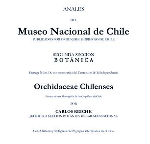 Orchidaceae chilenses