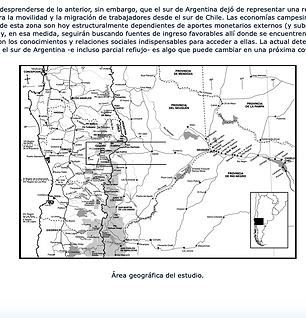 MIGRACIÓN Y MOVILIDAD MAPUCHE A LA PATAGONIA ARGENTINA