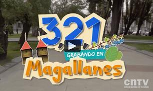 Parque María Behetty y Humedal Tres Puentes, Serie infantil 3,2,1 grabando en Magallanes
