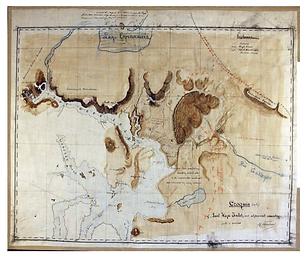 Un novedoso mapa manuscrito del seno de última esperanza (1895)