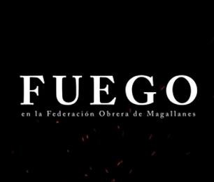 Fuego: incendio en la federación obrera de Magallanes