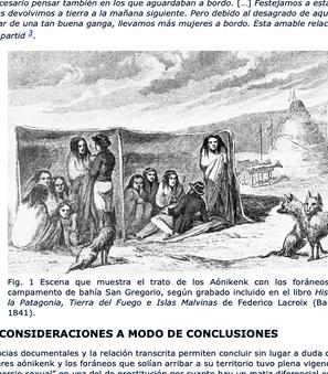 EL COMERCIO SEXUAL ENTRE LAS MUJERES AÓNIKENK Y LOS FORÁNEOS