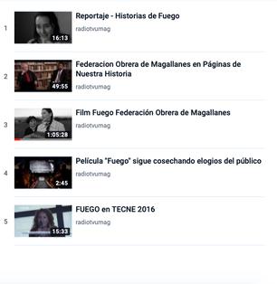 Reportaje - Historias de Fuego