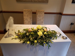 Ceremony Signing Table