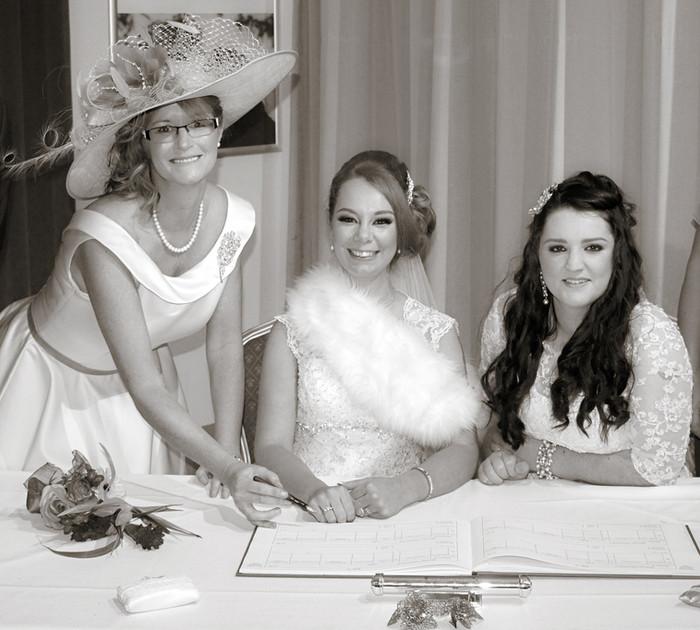 A recent beautiful wedding - Congratulation Emma & Samantha
