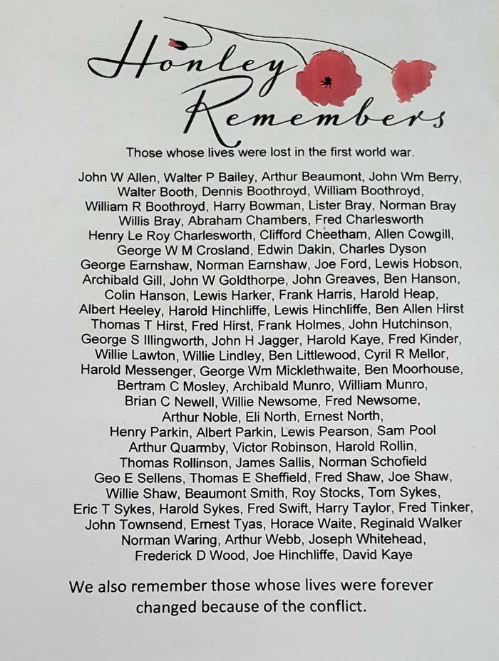 "Creating Memories with ""Honley Remembers"""