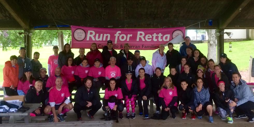 4th Annual Run for Retta