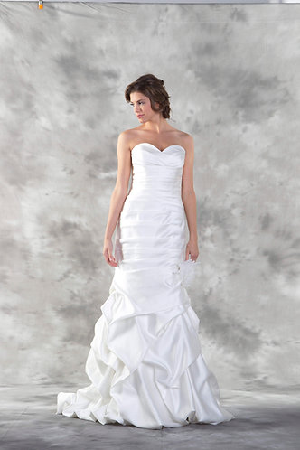 Strapless Mermaid Wedding Gown