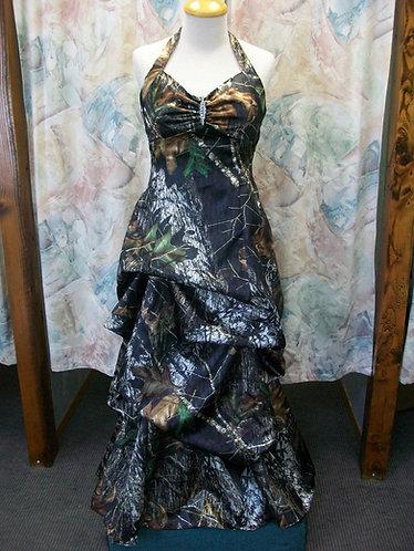 Pamela Ann Camo Pick up Prom/Wedding Dress