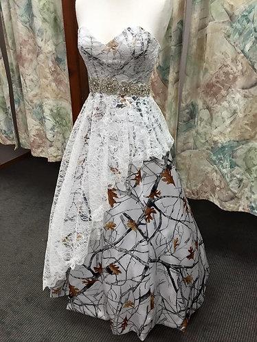 Grace Camo Prom/Bridesmaid Dress