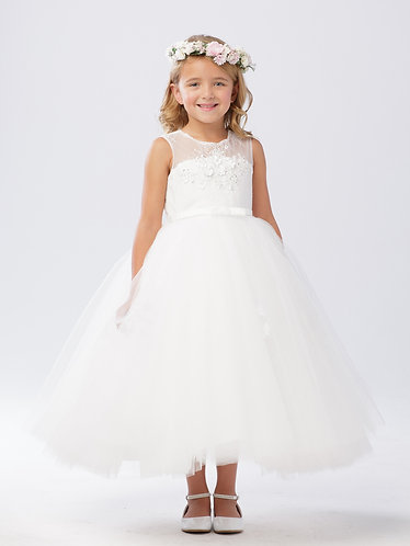 Mini Bride Flower Girl/Communion Dress