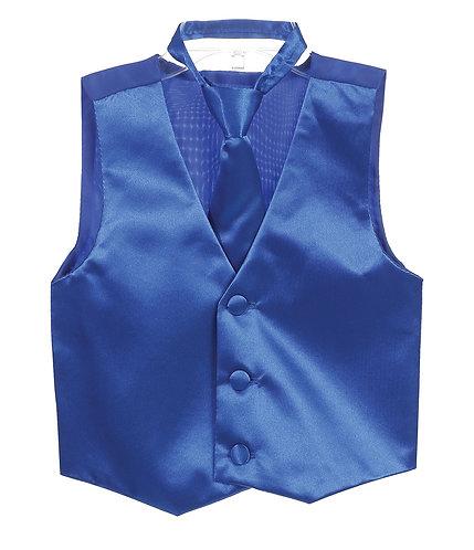 Men's Vest and Tie Set