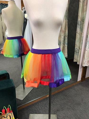 Rainbow Satin Edge TUTU Adult Sizes Pride