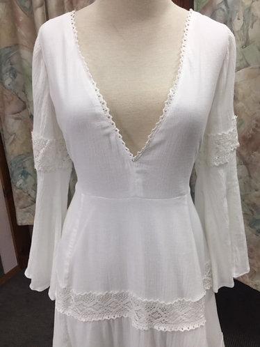 'Stormy' Bohemian Retro Style Wedding Gown