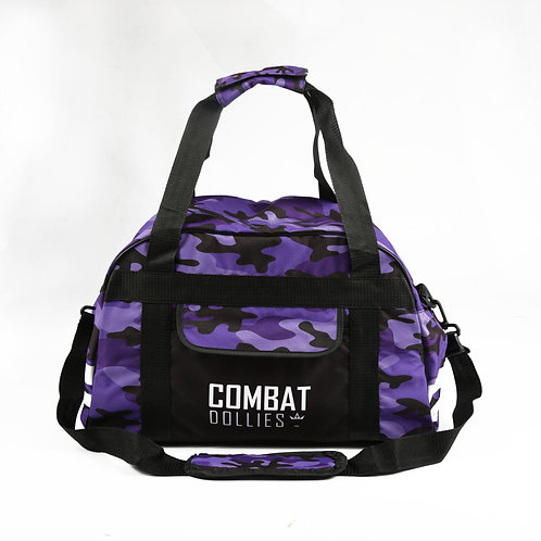 Purple Camo Sports Bag