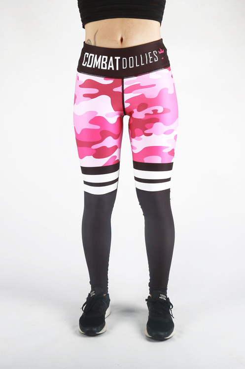 6202fb661c9a3 The Camo Stripe Leggings collection have expanded... Pretty and pink.