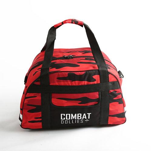 Red Camo Sports Bag