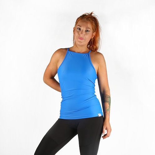 Workout Tank Top - Electric Blue