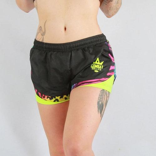 Multi- Print Rush shorts