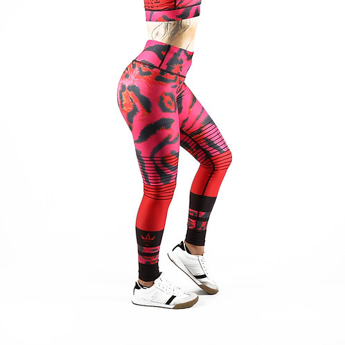 Pink Leopard Fitness Leggings