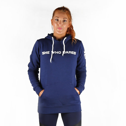 She Who Dares Hoodie - Navy