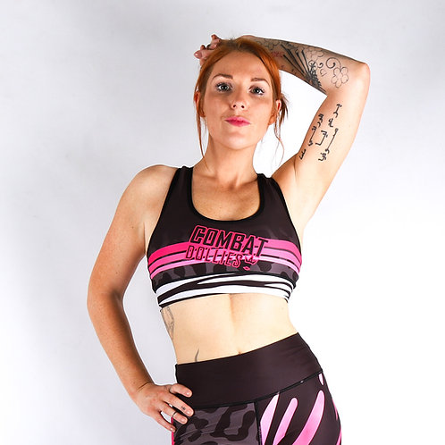 Wild Pinks Sports Bra