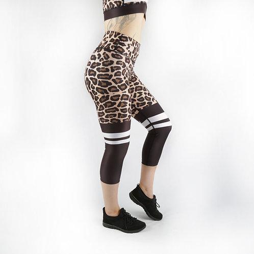 Leopard Print Fitness Capri