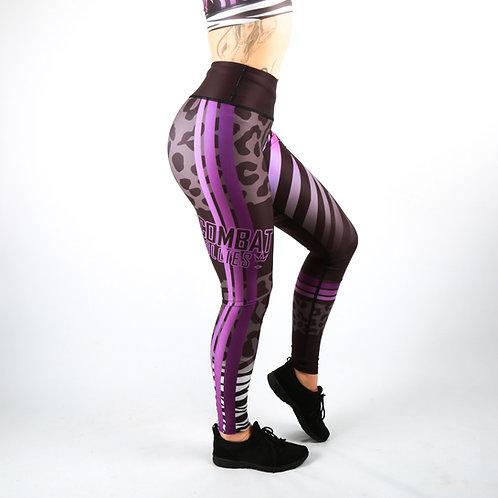 Wild Purple Fitness Leggings