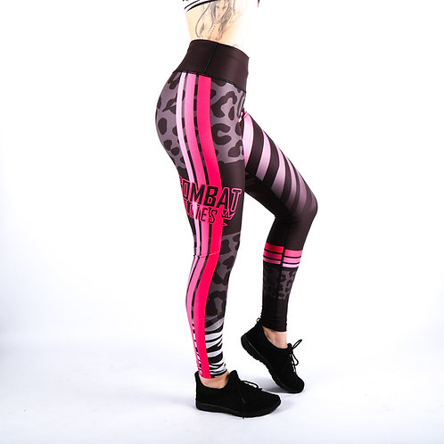 Wild Pinks Fitness Leggings