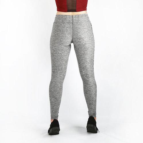 Grey tight leg joggers