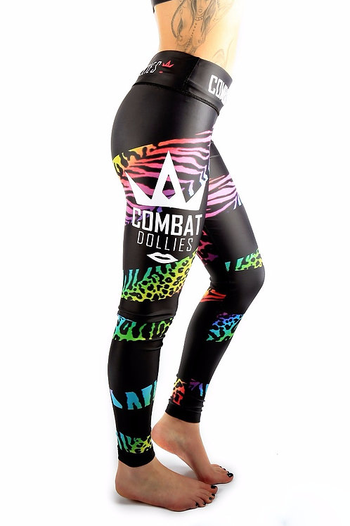 Multi-print Fitness Leggings