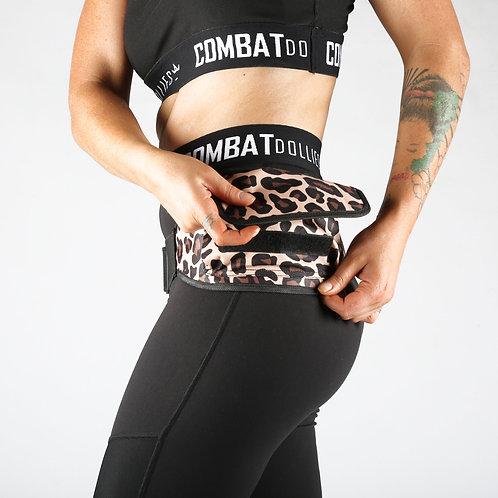 Leopard Print Running Belt