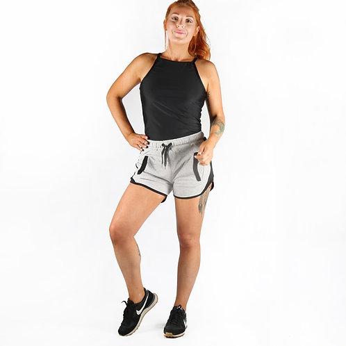 Combat Dollies Grey Lounge Shorts