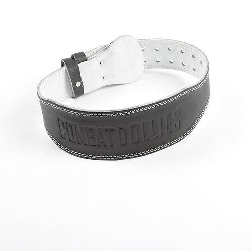 Combat Dollies Leather Lifting Belt