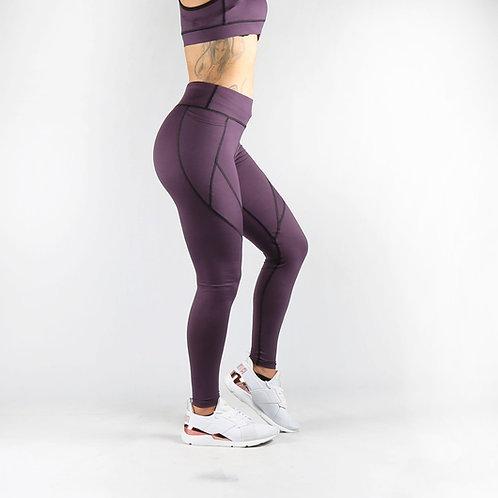 Mauve Pocket Fitness Leggings